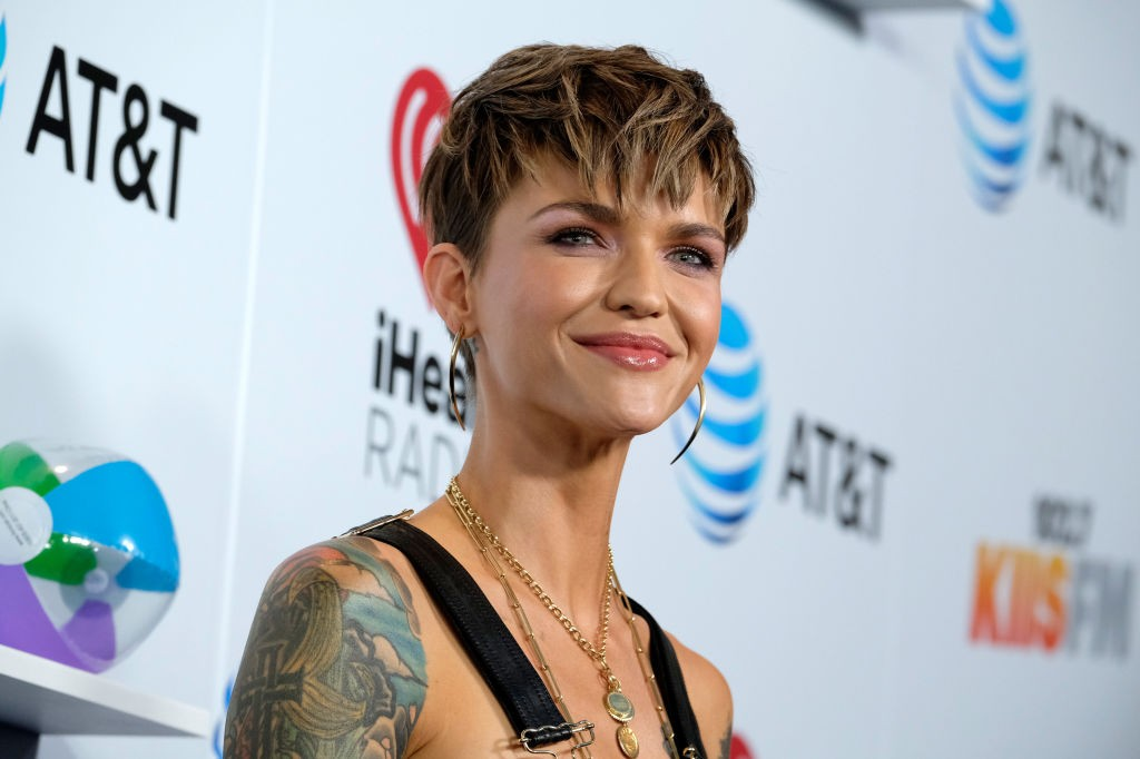 LOS ANGELES, CA - JUNE 02:  Ruby Rose attends iHeartRadio's KIIS FM Wango Tango by AT&T at Banc of California Stadium on June 2, 2018 in Los Angeles, California.  (Photo by Frazer Harrison/Getty Images)