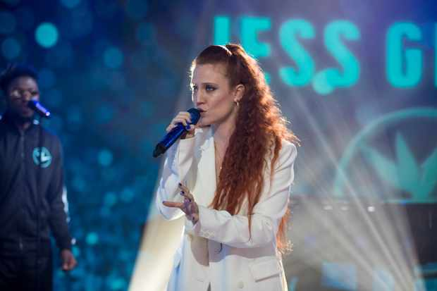 TODAY -- Pictured: Jess Glynne on Wednesday, July 11, 2018 -- (Photo by: Nathan Congleton/NBC/NBCU Photo Bank via Getty Images)  TL