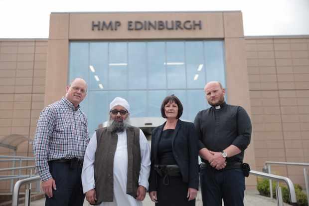 BBC1's Faith behind Bars follows HMP Edinburgh's chaplains (BBC)