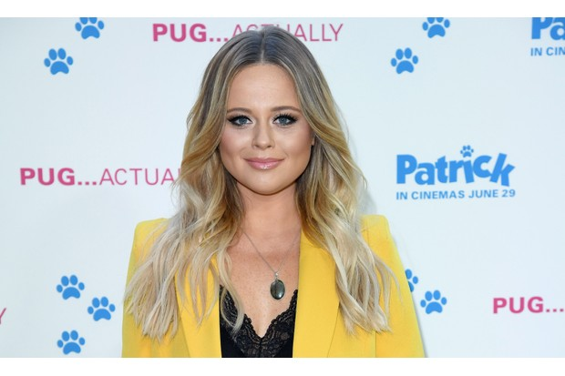 I'm A Celebrity star Emily Atack snapped in gorgeous snake ...