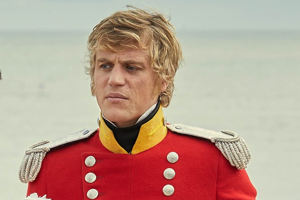 Johnny Flynn plays William Dobbin in Vanity Fair