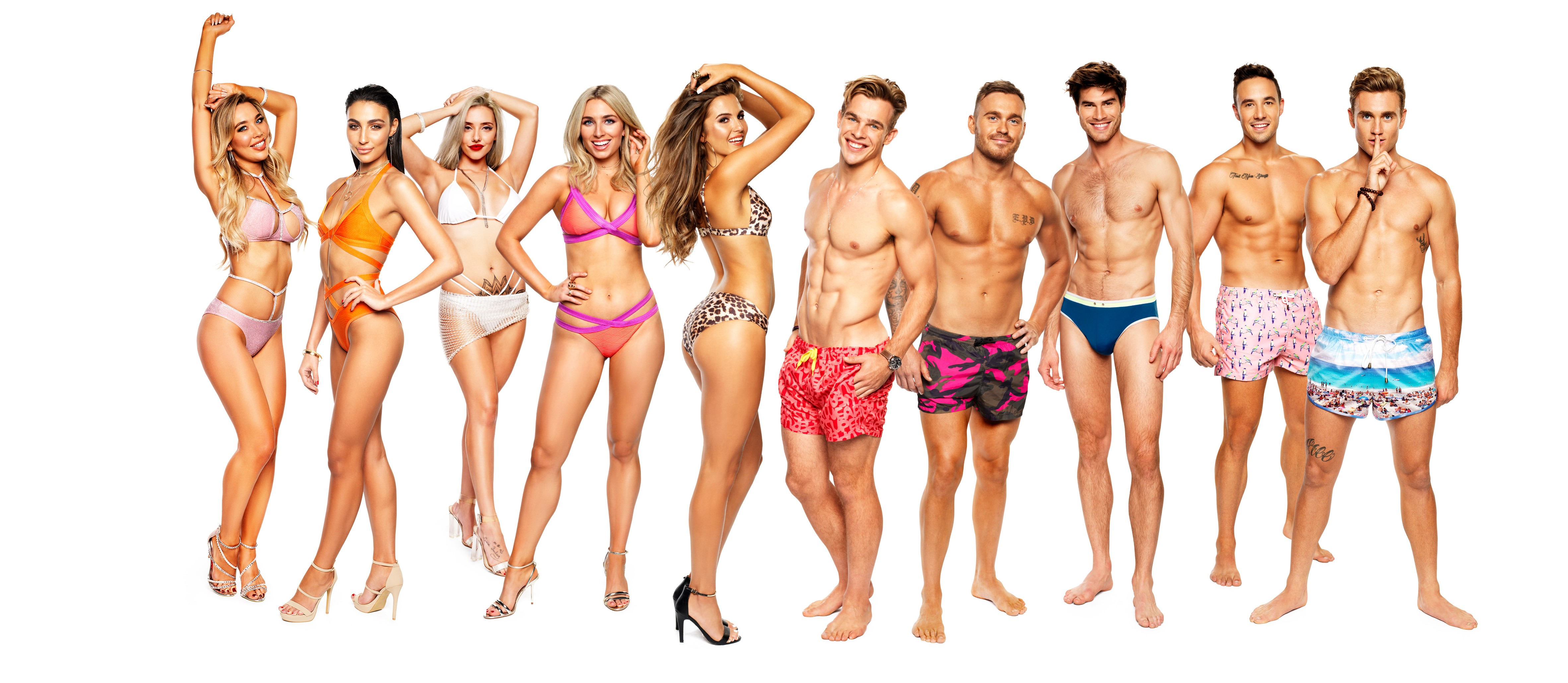 From ITV Studios Australia    Love Island: Australia on ITVBe  Pictured: Natasha Cherie, Tayla Damir, Erin Barnett, Cassidy McGill, Millie Fuller, Charlie Taylor, Eden Dally, Justin Lacko, Grant Crapp and Josh Moss.  This photograph is (C) ITV Plc and can only be reproduced for editorial purposes directly in connection with the programme or event mentioned above or ITV plc. Once made available by ITV plc Picture Desk, this photograph can be reproduced once only up until the transmission [TX] date and no reproduction fee will be charged. Any subsequent usage may incur a fee. This photograph must not be manipulated [excluding basic cropping] in a manner which alters the visual appearance of the person photographed deemed detrimental or inappropriate by ITV plc Picture Desk.  This photograph must not be syndicated to any other company, publication or website, or permanently archived, without the express written permission of ITV Plc Picture Desk. Full Terms and conditions are available on the website www.itvpictures.co.uk  For further information please contact: james.hilder@itv.com / 0207 157 3052