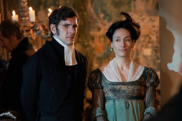 Mathew Baynton plays Bute Crawley in Vanity Fair