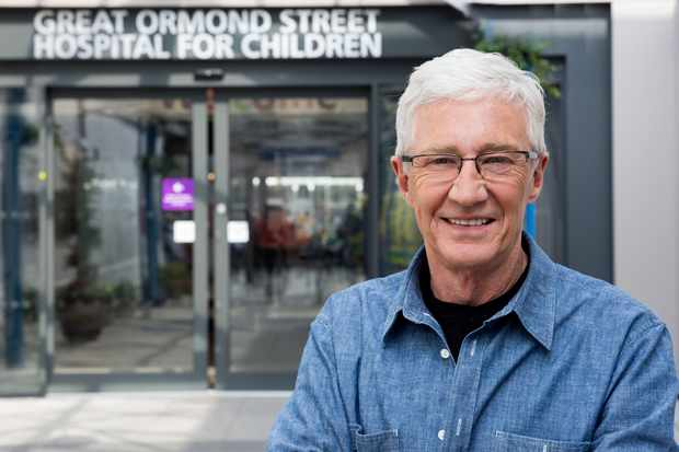 From Olga TV   PAUL O'GRADYS LITTLE HEROES  Wednesday 8th August 2018 on ITV   Pictured Paul O'Grady outside Great Ormond Street Hospital   In this brand new six-part series, Paul O'Grady immerses himself in the iconic Great Ormond Street Hospital. Warm, life-affirming and peppered with Paul's trademark uplifting humour, this series is a celebration of the brave and remarkable children who come to the hospital for life-changing treatment.   Having been a children's care worker in his twenties, Paul is accustomed to hospital life.  He meets children that come through the hospital doors for various treatments and of course offers a helping hand where he can.    Photographer: John Stead   © OLGA TV   For further information please contact Peter Gray 0207 157 3046 peter.gray@itv.com    This photograph is © ITV and can only be reproduced for editorial purposes directly in connection with the  programme or ITV. Once made available by the ITV Picture Desk, this photograph can be reproduced once only up until the Transmission date and no reproduction fee will be charged. Any subsequent usage may incur a fee. This photograph must not be syndicated to any other publication or website, or permanently archived, without the express written permission of ITV Picture Desk. Full Terms and conditions are available on the website www.itvpictures.com  TL