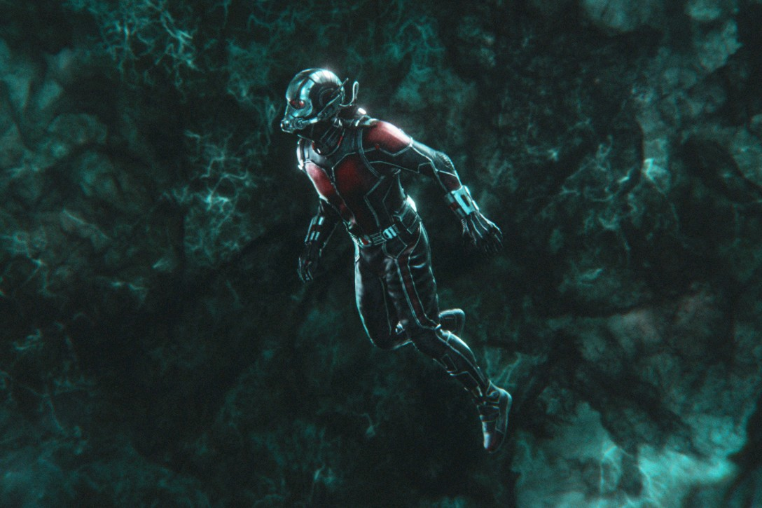 Paul Rudd as Scott Lang/Ant-Man in Ant-Man and the Wasp (Marvel, HF)