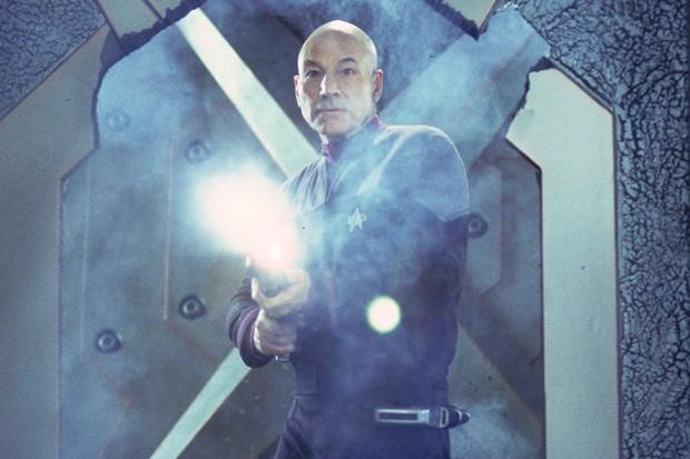 Patrick Stewart as Captain Jean-Luc Picard (Sky, HF)