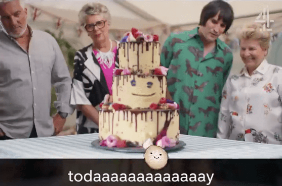 The Great British Bake Off trailer