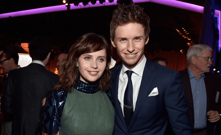 Felicity Jones and Eddie Redmayne (Getty, EH)