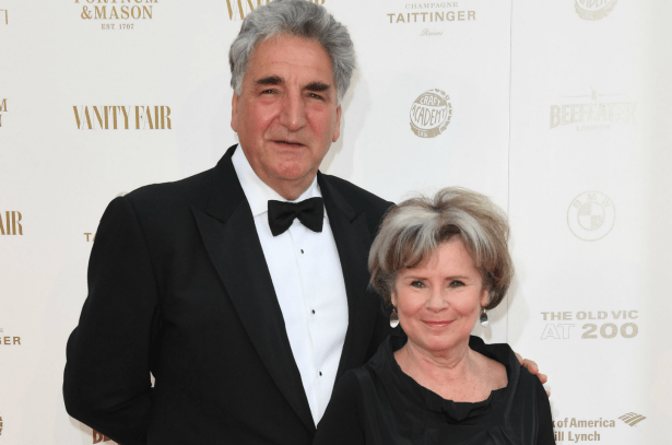Jim Carter and Imelda Staunton (Getty, EH)