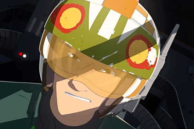 Christopher Sean's Kazuda Xiono in Star Wars Resistance (Disney, HF)
