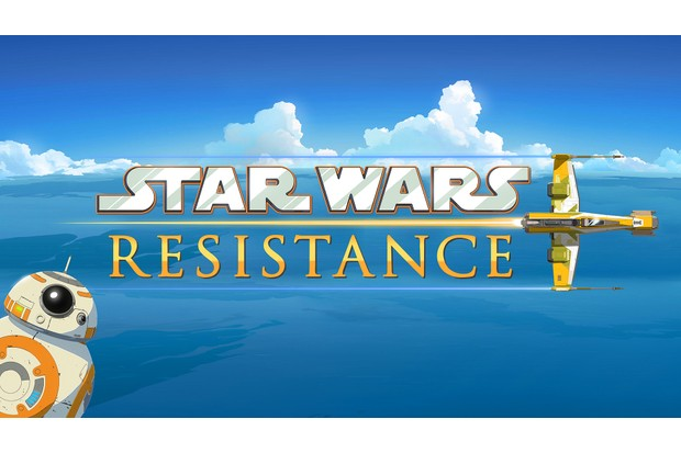 The Logo for Star Wars Resistance (Disney, HF)