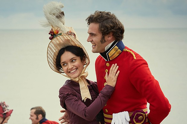 Tom Bateman plays Captain Rawdon Crawley in Vanity Fair