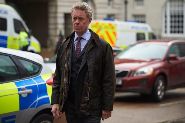 Alex Jennings in Unforgotten as Dr Tim Finch