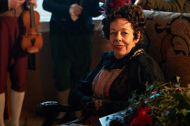 Vanity Fair - Frances de la tour as aunt Matilda Crawley