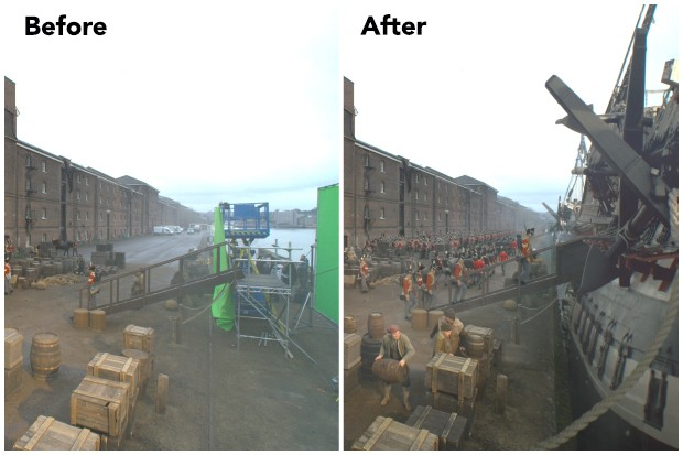 Vanity Fair VFX chatham
