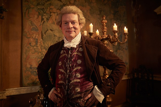 Vanity Fair - martin clunes plays Sir Pitt Crawley