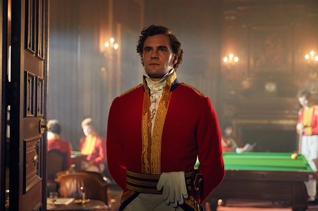 Vanity fair - Tom Bateman plays Captain Rawdon Crawley