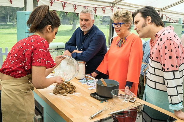 Bake Off tent stress, Channel 4 press