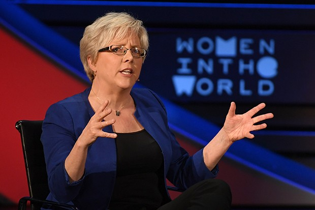Carrie Gracie, Getty
