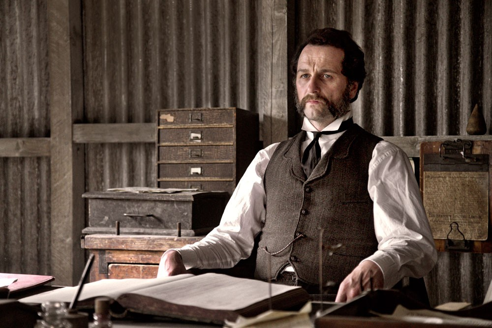 Matthew Rhys plays Beth's stepfather, Billy Winters, in Death and Nightingales
