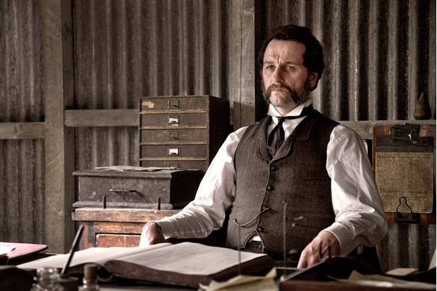 Matthew Rhys plays Beth's stepfather, Billy Winters, in Death and Nightingales (BBC)