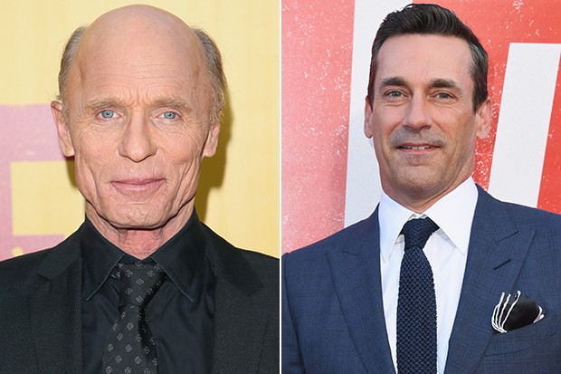Ed Harris and Jon Hamm, Getty