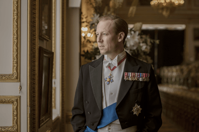 First look at Tobias Menzies as Prince Philip in The Crown season three (Netflix)
