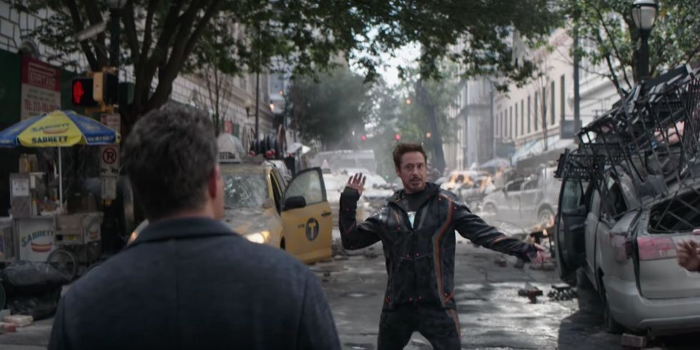 Marvel gag reel screenshot, EH