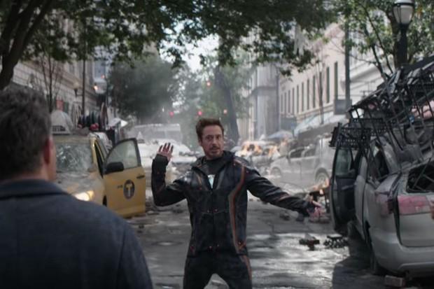 Marvel gag reel screenshot, EH