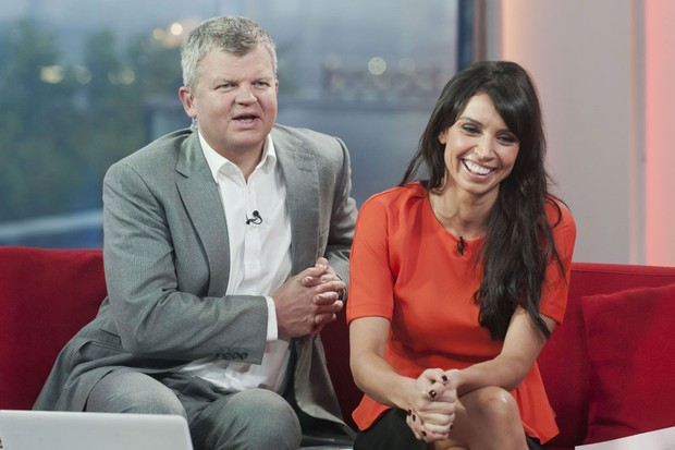 Adrian Chiles and Christine Bleakley on BBC1's The One Show