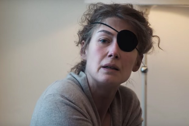 Rosamund Pike as Marie Colvin, YouTube
