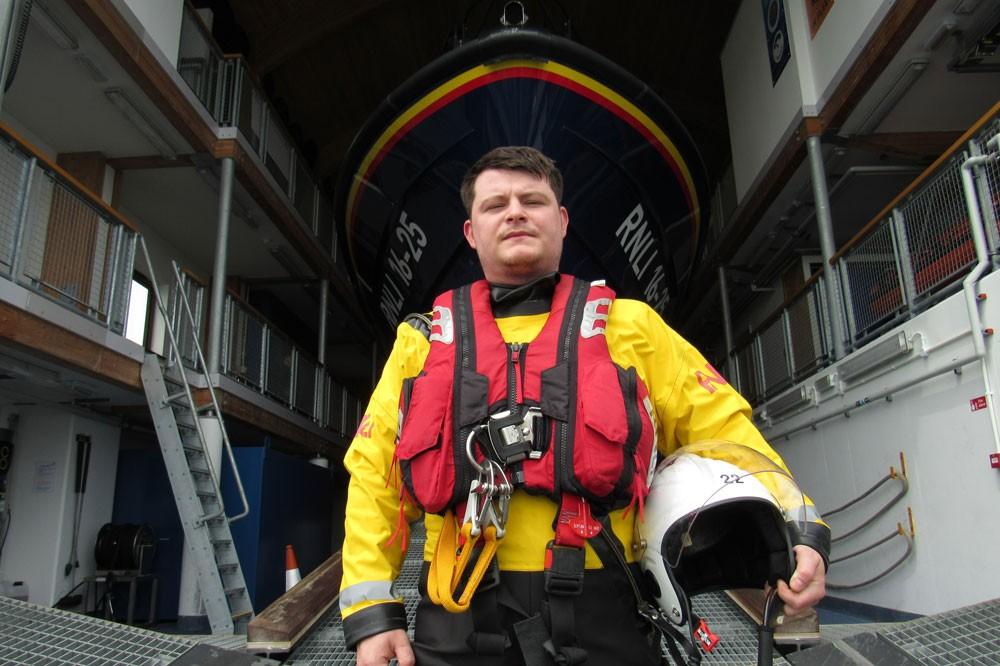 Joshua Edwards, Saving Lives at Sea (BBC)