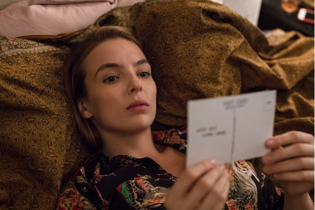 Programme Name: Killing Eve - TX: n/a - Episode: n/a (No. Ep 1) - Picture Shows: Villanelle (JODIE COMER) - (C) Sid Gentle Films - Photographer: Sophie Mutevelian