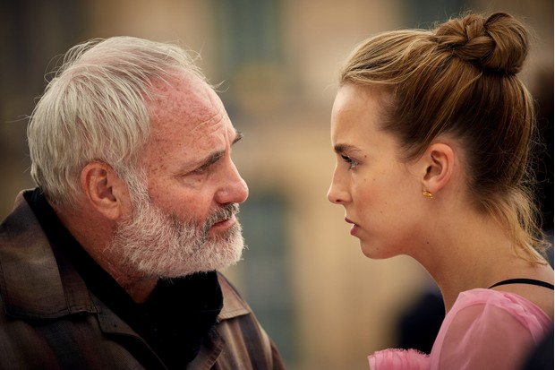 Jodie Comer and Kim Bodnia in Killing Eve