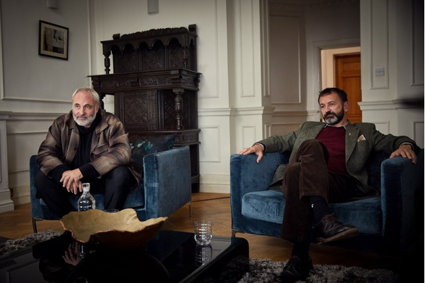 Konstantin (Kim Bodnia), Jerome (David Bertrand) in Killing Eve