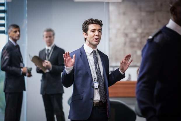 Rob MacDonald plays aide Paul Ready in Bodyguard