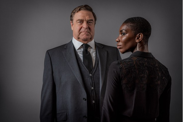 Michael Ennis (JOHN GOODMAN), Kate Ashby (MICHAELA COEL) (BBC)
