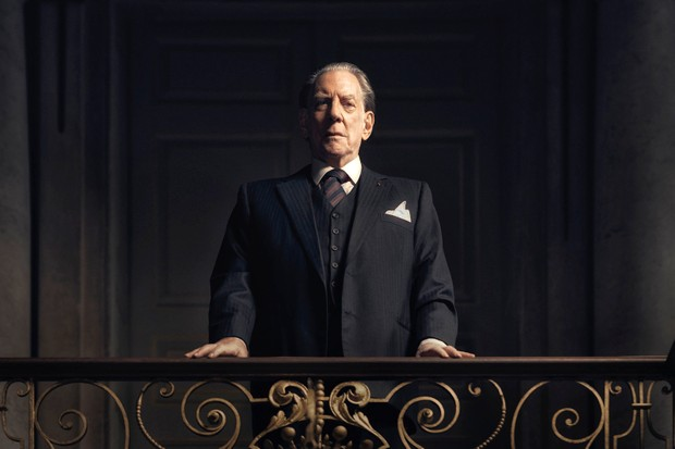 Donald Sutherland as J Paul Getty Sr in new drama Trust (FX Productions LLC)