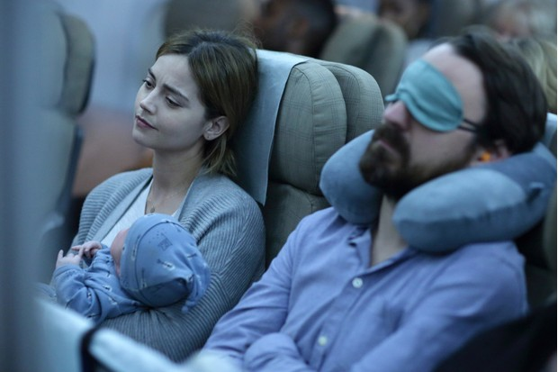 Jenna Coleman and baby in The Cry