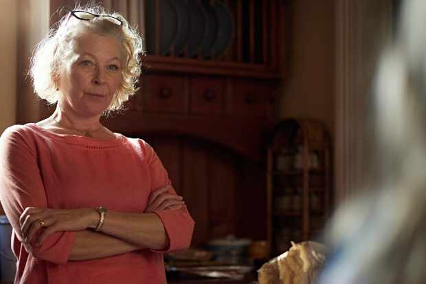 Stella Gonet plays Alistair's mother Elizabeth in The Cry