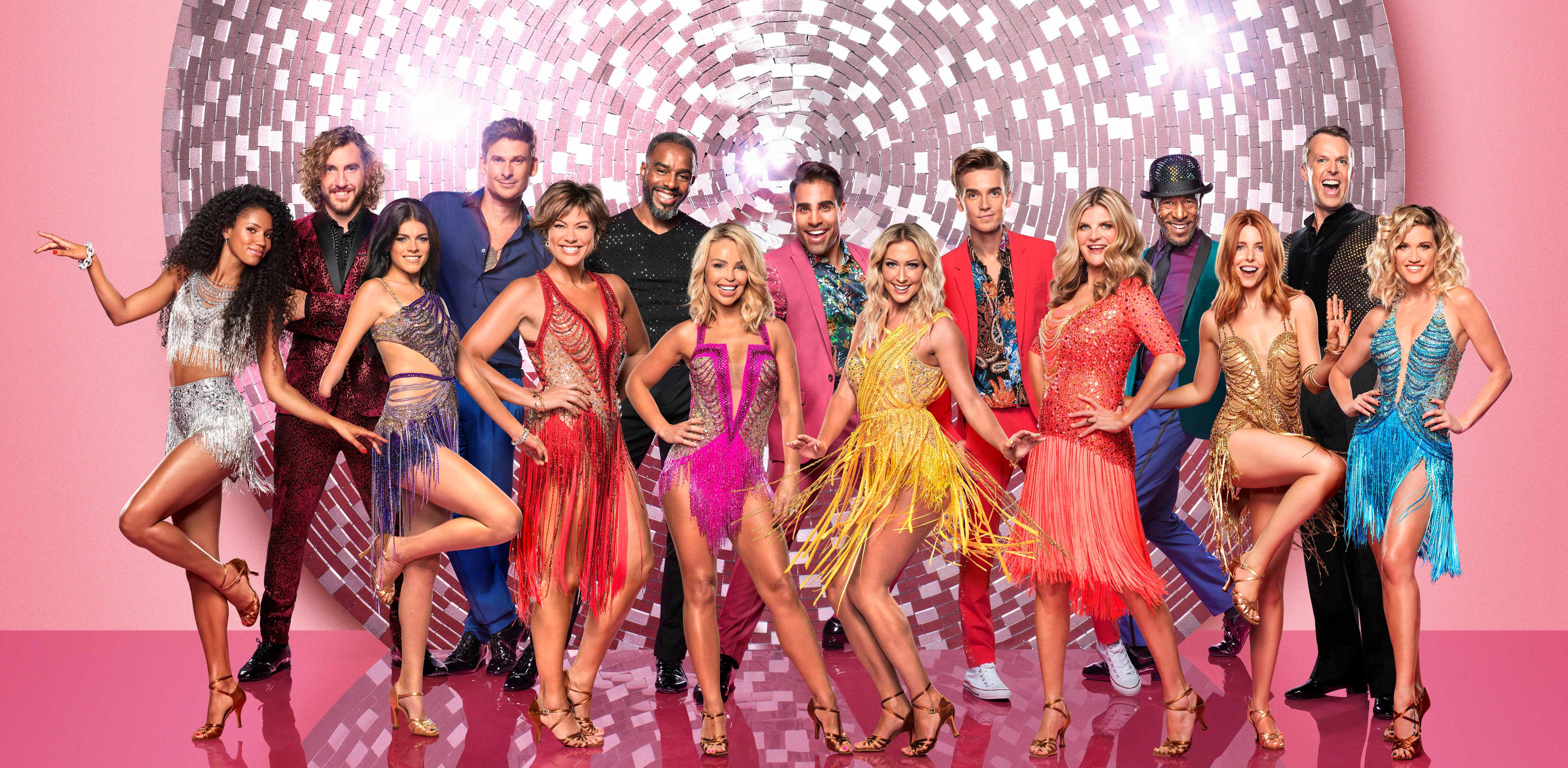 WARNING: Embargoed for publication until 00:00:01 on 04/09/2018 - Programme Name: Strictly Come Dancing 2018 - TX: 08/09/2018 - Episode: n/a (No. 1) - Picture Shows: Top L-R`: Seann Walsh, Lee Ryan, Charles Venn,Dr Ranj Singh, Joe Sugg, Danny John-Jules, Graeme Swann Bottom L-R: Vick Hope, Lauren Steadman, Kate Silverton, Katie Piper, Faye Tozer, Susannah Constantine, Stacey Dooley, Ashley Roberts Seann Walsh, Lee Ryan, Charles Venn, Dr Ranj Singh, Joe Sugg, Danny John-Jules, Graeme Swann, Vick Hope, Lauren Steadman, Kate Silverton, Katie Piper, Faye Tozer, Susannah Constantine, Stacey Dooley, Ashley Roberts - (C) BBC - Photographer: Ray Burmiston