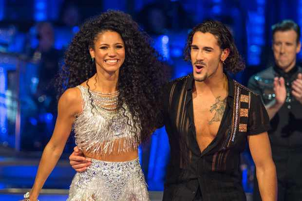 Vick Hope, Graziano Di Prima, Strictly (BBC, EH)