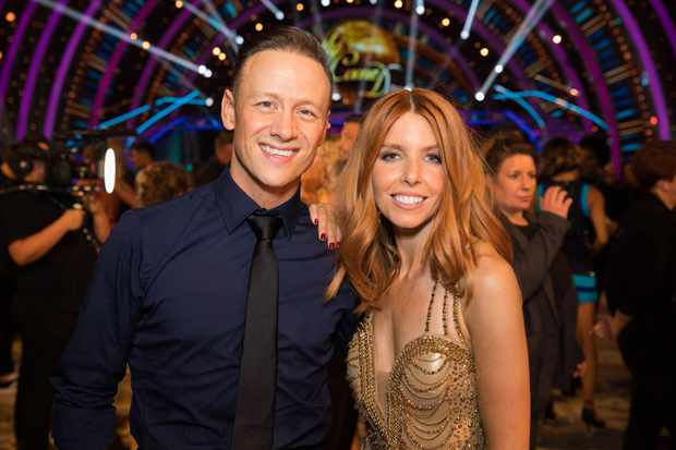 Kevin Clifton, Stacey Dooley, Strictly (BBC, EH)