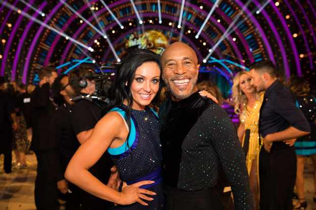 Amy Dowden, Danny John-Jules, Strictly (BBC, EH)