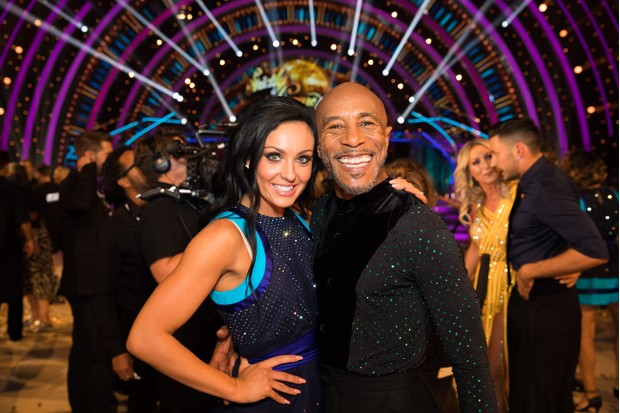 Amy Dowden, Danny John-Jules, Strictly