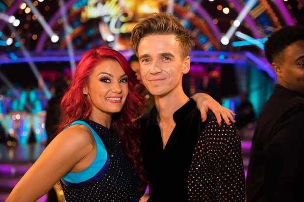 Dianne Buswell, Joe Sugg, Strictly (BBC, EH)