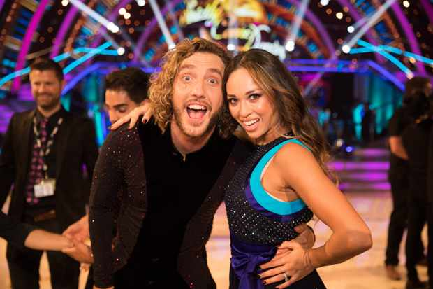 Seann Walsh, Katya Jones, Strictly (BBC, EH)