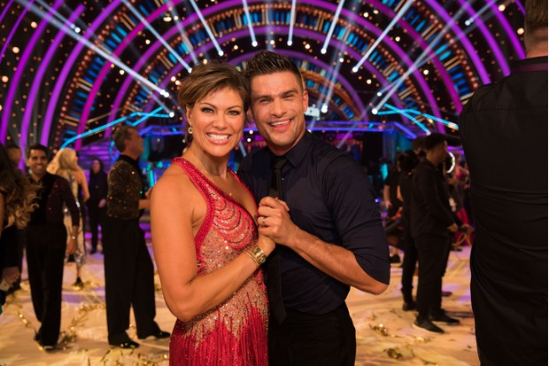 Kate Silverton, Aljaž Skorjanec, Strictly (BBC, EH)