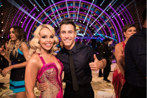 Katie Piper, Gorka Marquez, Strictly