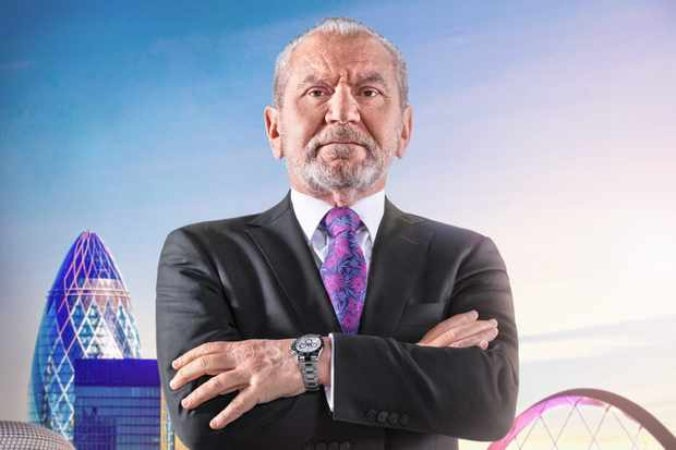 WARNING: Embargoed for publication until 10:00:01 on 25/09/2018 - Programme Name: The Apprentice  - TX: n/a - Episode: n/a (No. n/a) - Picture Shows: **IMAGE EMBARGOED FROM PUBLICATION UNTIL 10AM TUESDAY 25TH SEPTEMBER 2018** Lord Sugar - (C) Boundless Taylor Herring - Photographer: Jim Marks